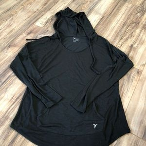 Old Navy Go Dry workout long sleeve hoodie shirt L